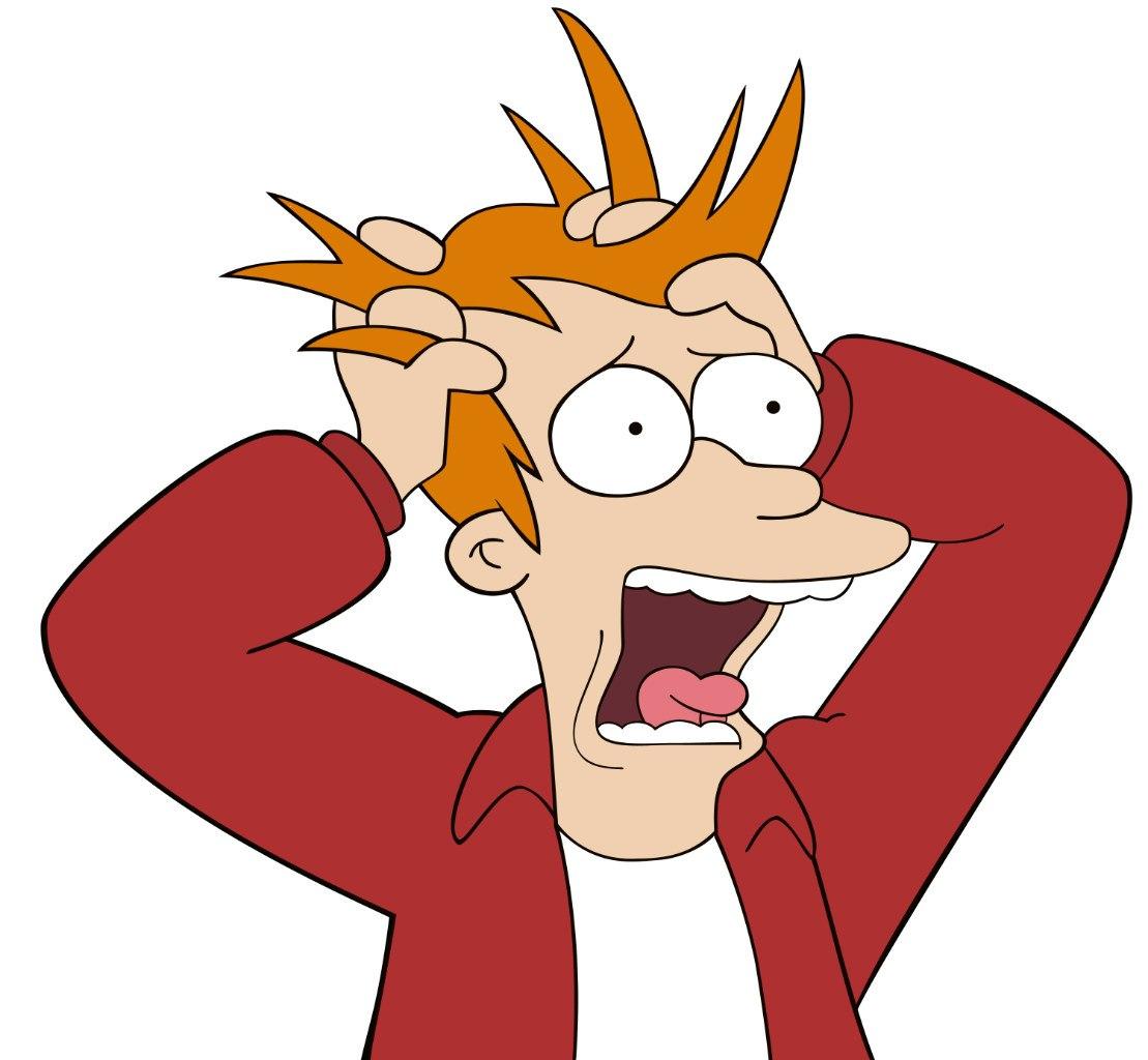 Фрай рвёт волосы