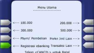 Registrasi Mandiri Internet Banking