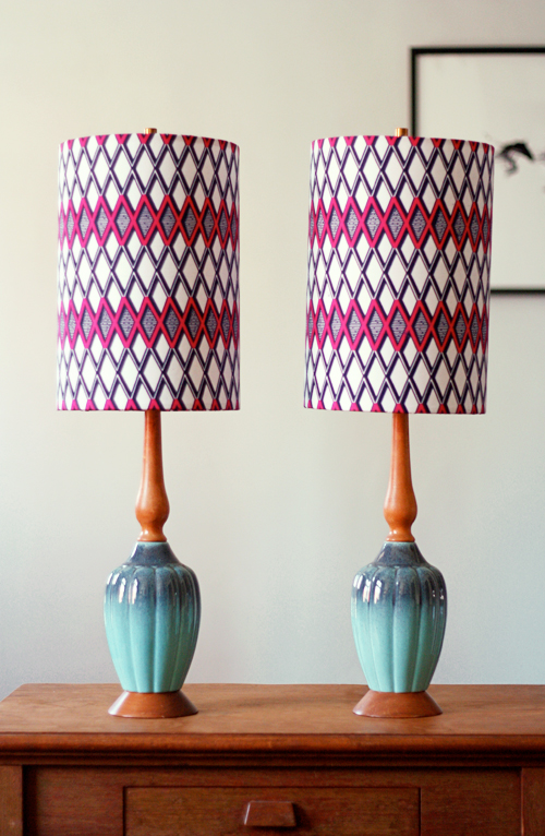How to cover lampshades with fabric how about orange aloadofball Images