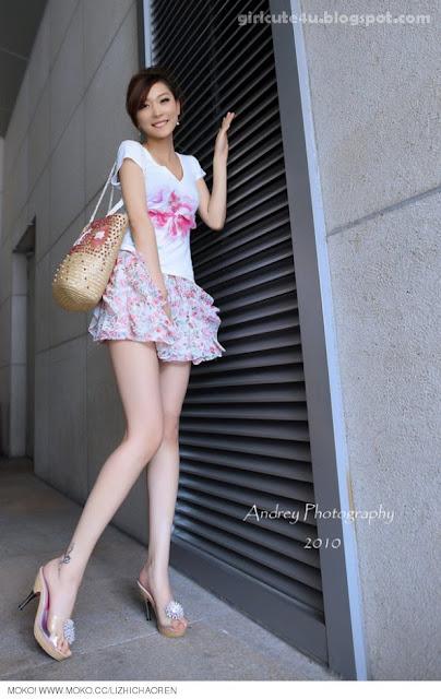 Li-Fan-Pink-and-White-13-very cute asian girl-girlcute4u.blogspot.com