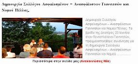 Δημιουργία Συλλόγου Ασφαλισμένων – Ανασφάλιστων Γιαννιτσών και Νομού Πέλλας.