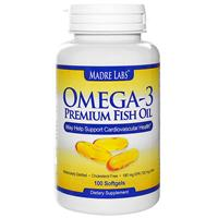 Madre Labs omega-3 rasvahapot 100kpl
