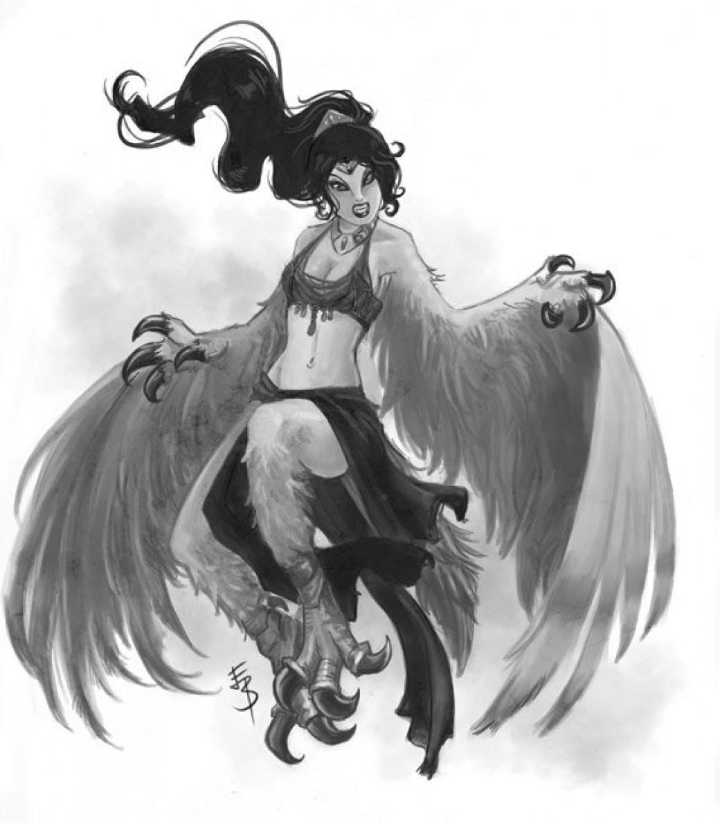 harpy por Esther-Sanz
