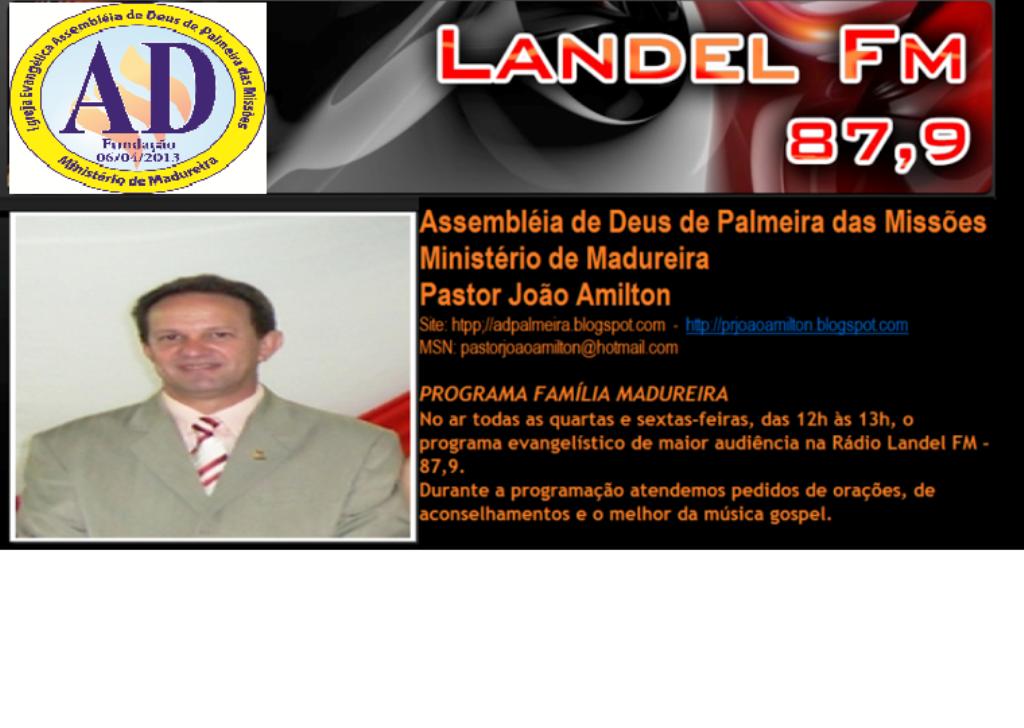 Programa FAMÍLIA MADUREIRA