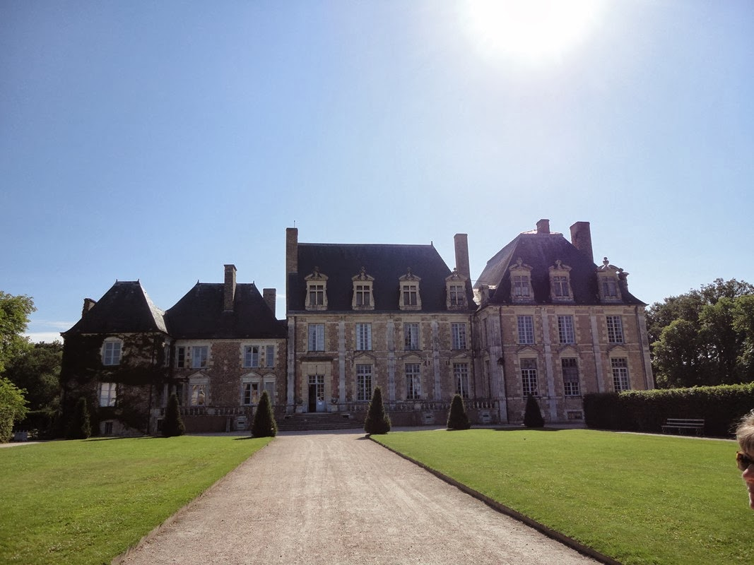 I viaggi di raffaella chateau de la fert saint aubin un for Garage ad la ferte saint aubin
