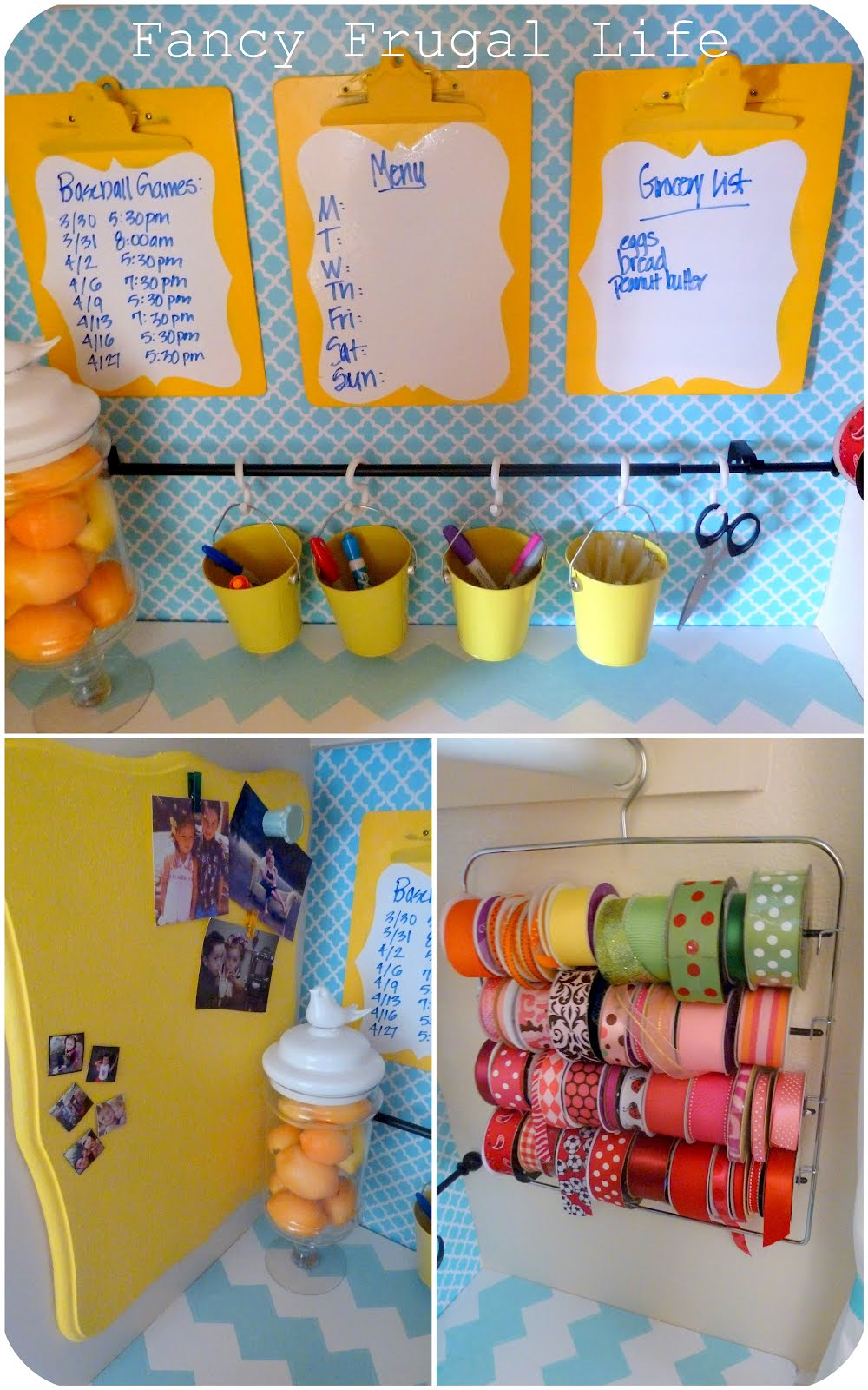 Craftaholics anonymous 21 small craft storage ideas for for Craft supplies organization ideas