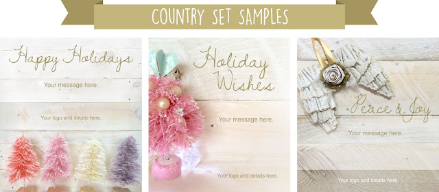 Click to view all our Country Holiday emailer designs