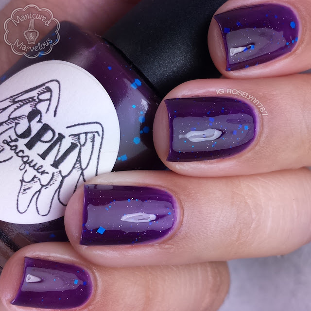 Purple Nurpled from Supernatural Lacquer