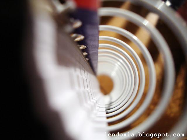 spirala prema dolje