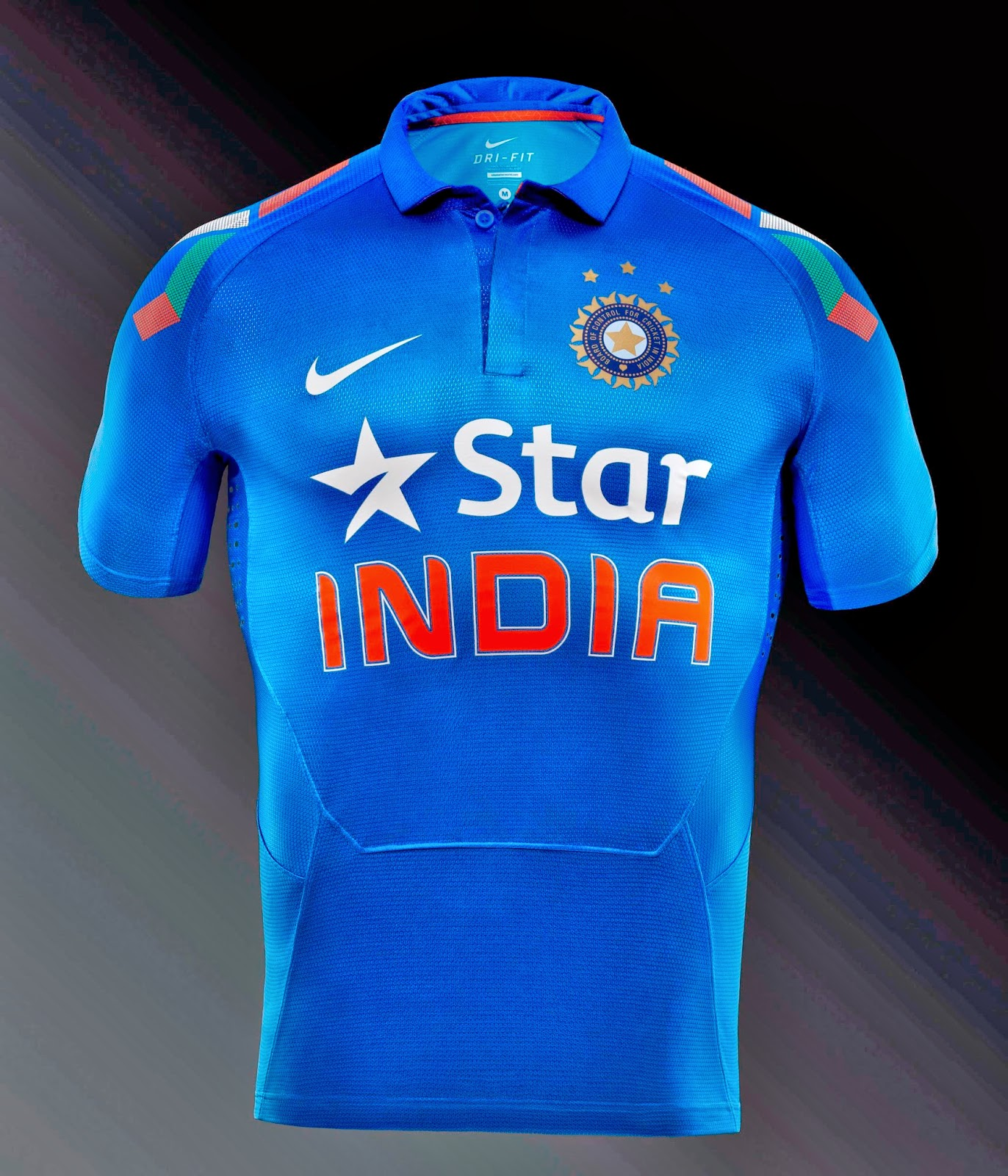 Indian Cricket Team New Jersey 2014