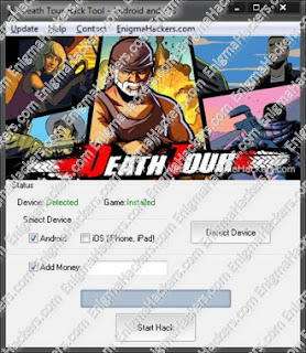 Adders Hacks: Death Tour Hack Cheat Tool v1.03 Android & iOS