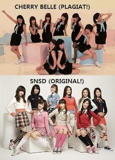 cherrybelle Bukti Bukti Real Cherry Belle Plagiat SNSD