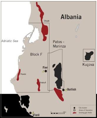Trivelle in Albania: terremoti e royalties al 70%