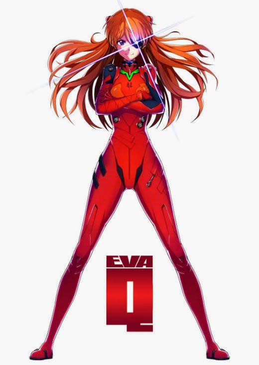 Finished watching the second time, I tried to put color neatly before the while thinking Q Asuka's character really good.