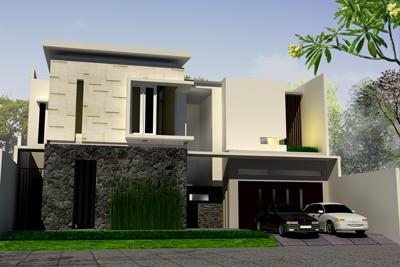 contoh rumah minimalis on Contoh rumah modern - Rumah modern banyak diminati oleh pasangan muda ...
