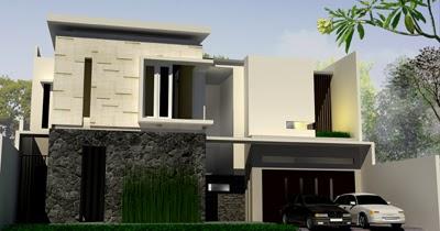 contoh rumah modern tropis