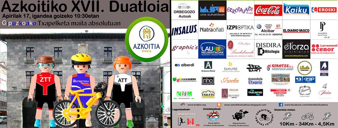 2016 Azkoitiko XVII. Duatloia
