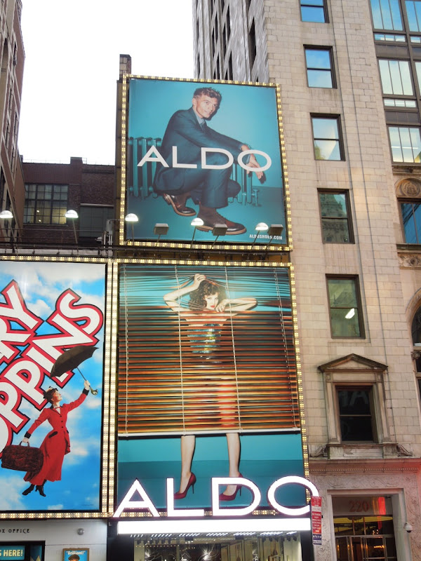 Aldo Shoes NYC billboards FW 2012