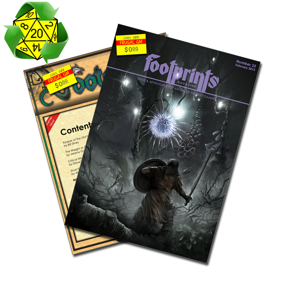Free GM Resource: Footprints Magazine