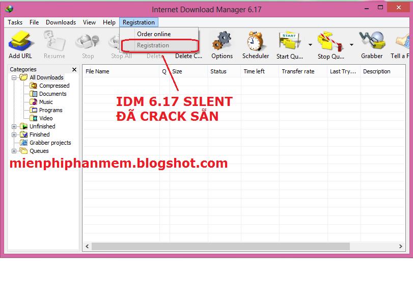 IDM 6.17 silent cài đặt không cần Crack