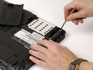 How To Replace Hard Disk Netbook With Easily