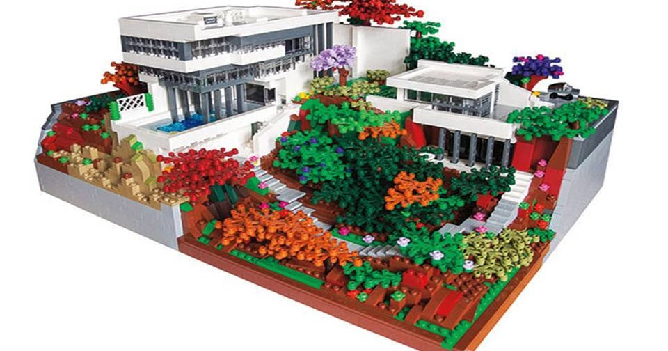 Home Decor Stunning Lego Architecture Reaches New Heights