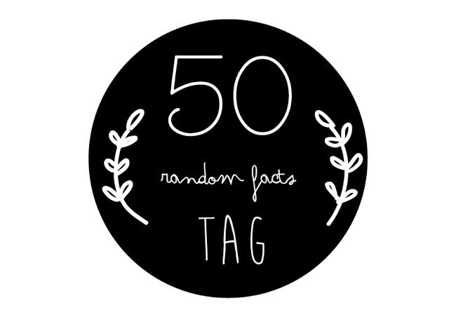 The 50 Random Facts Tag