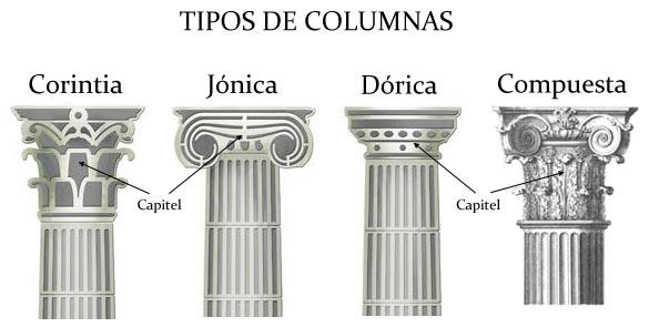 Rdenes cl sicos la beaut de la nuit for Pilares y columnas