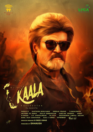 Poster Of Free Download Kaala 2018 300MB Full Movie Hindi Dubbed 720P Bluray HD HEVC Small Size Pc Movie Only At cintapk.com