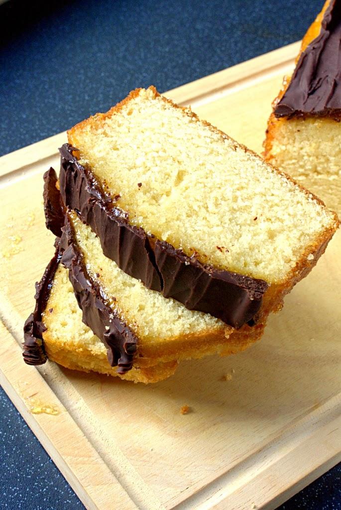 Jaffa Loaf Cake