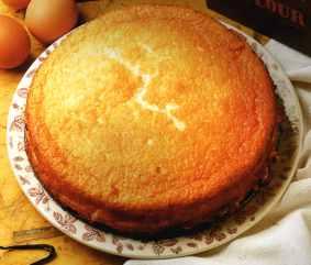 pastel de requeson
