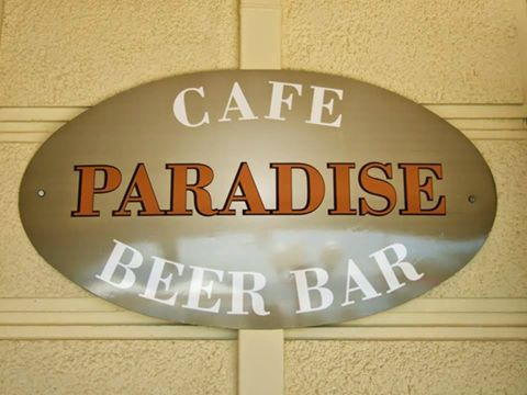 Paradise cafe beer bar restaurant