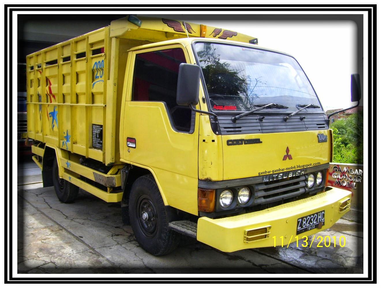 foto mobil truck mitsubishi