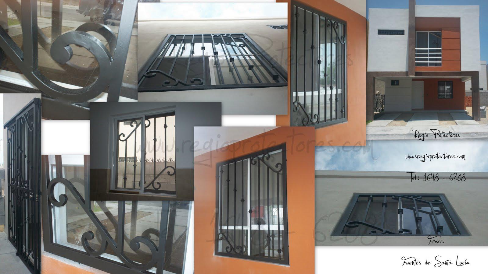 ... ventanas y puertas de Hierro forjado, Fracc. Fuentes de Santa Lucía