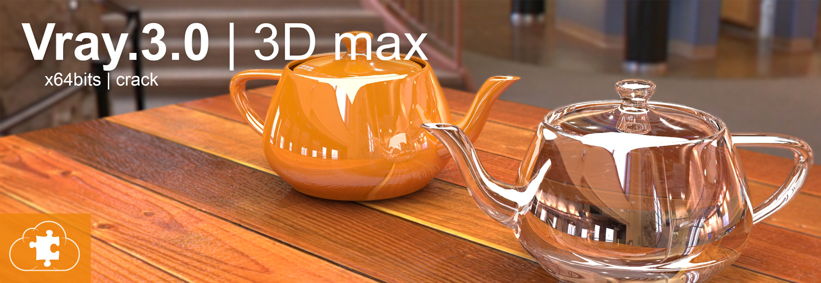 Vray 3.0  |  3Ds max 2014 | x64bits