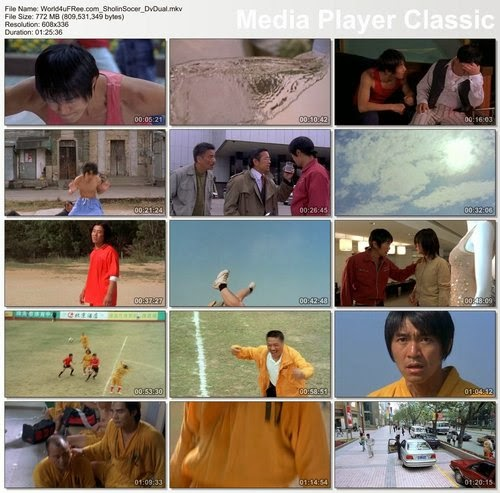 Shaolin Soccer (2001) BluRay 720p Full Movies + Subtitle Indonesia