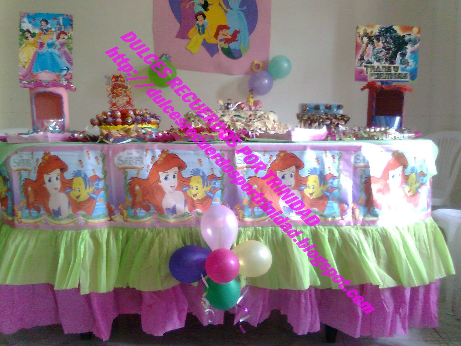Decoracion Fiesta Infantil Princesas Bebe Images Hawaii