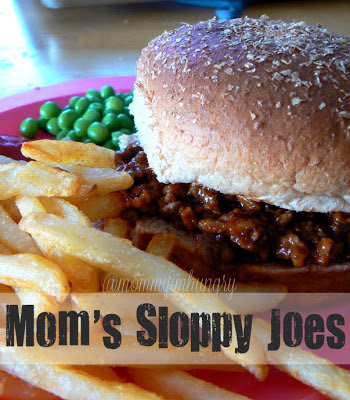 MIH Recipe Blog: Mom's Sloppy Joes