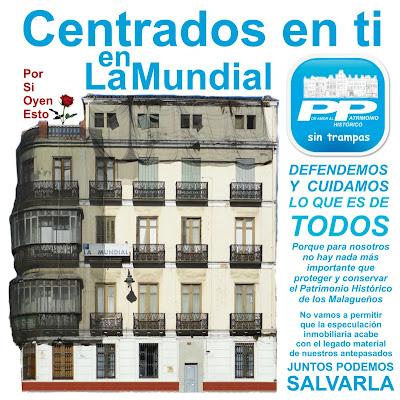 La Mundial, Málaga, Pasillo de Atocha Hoyo de Esparteros