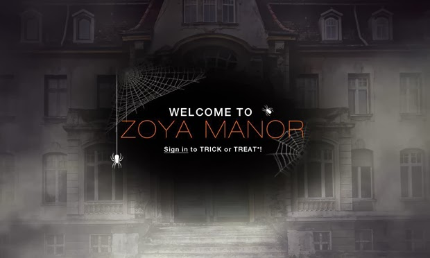 Sign in to Trick or Treat with Zoya Nail Polish on zoya.com