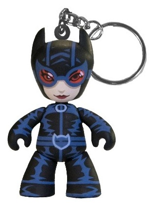 San Diego Comic-Con 2012 Exclusive Catwoman DC Universe 2 Inch Mez-Itz Vinyl Figure Key Chain by Mezco Toyz