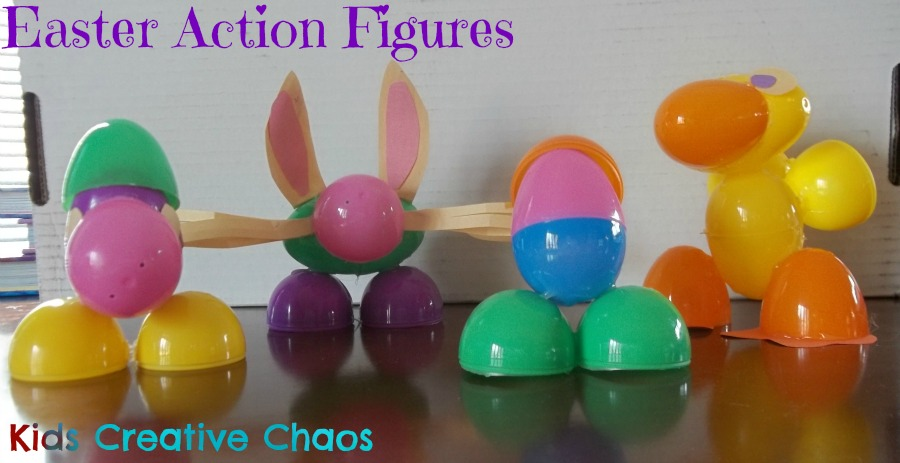 How To Make Action Figures Decorate Plastic Easter Eggs