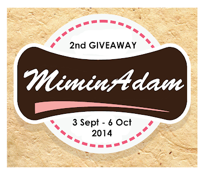 2nd Giveaway by Miminadam