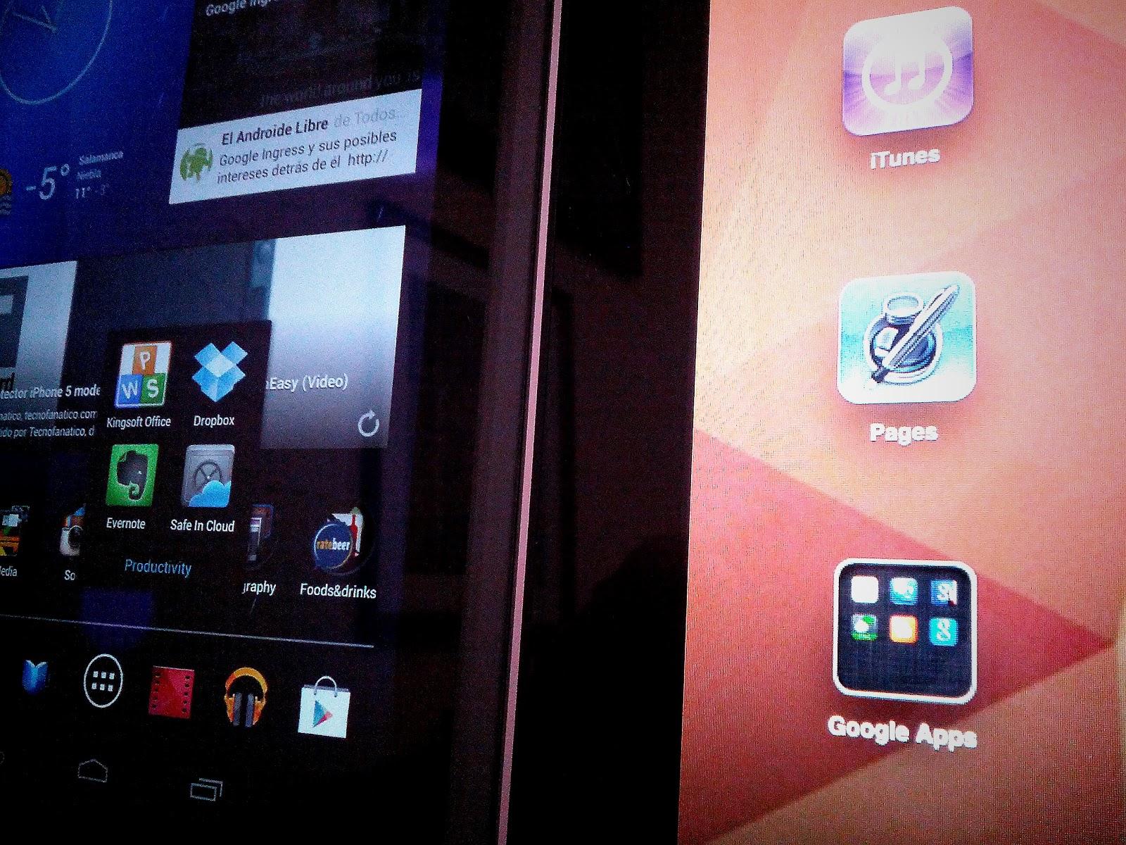 El Androide Mod: Pages vs Kingsoft office