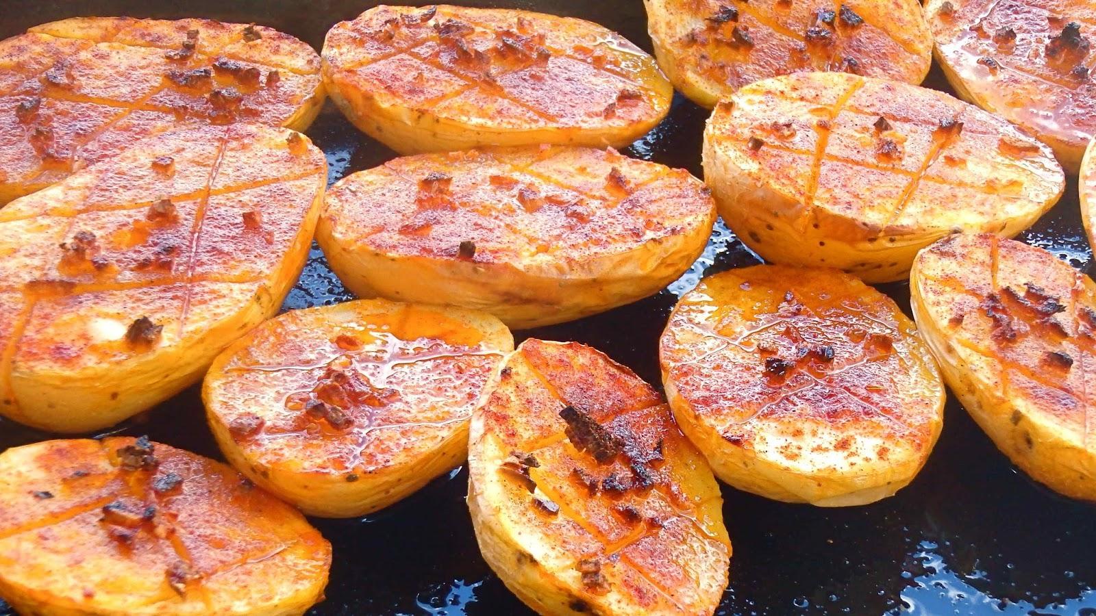 Les receptes que m 39 agraden patatas al horno con ajo y - Patatas pequenas al horno ...