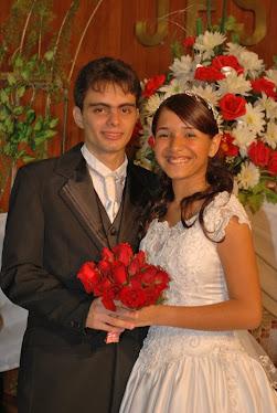 Casamento de Bruno e Micheli minha prima