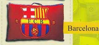 bantal selimut balmut Barcelona fata