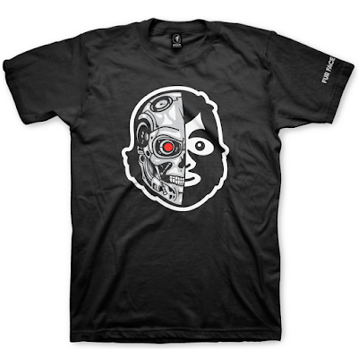 "The Terminator ""FFBT-100"" T-Shirt by Fur Face Boy"