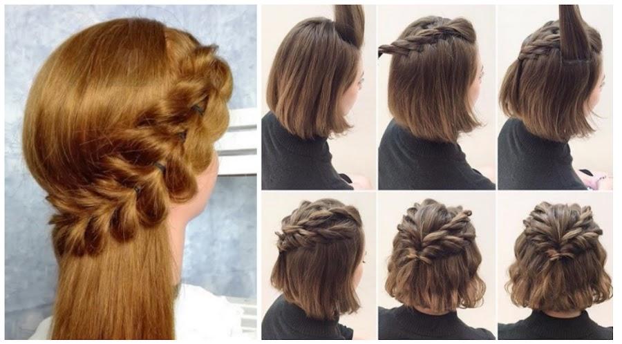 Peinados para cabello corto diario
