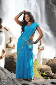 Anjali latest Glamorous photos in saree from svsc-thumbnail-5